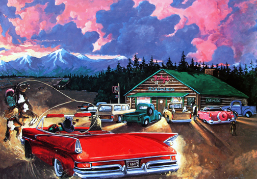 Anne Coe - Wrangling a Roadhouse Romeo