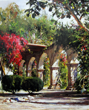 Cyrus Afsary - Sunlit Archway