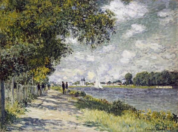 Claude Monet - The Seine at Argenteuil