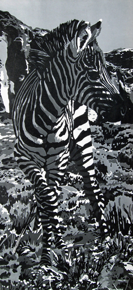 Charles Pierce - Untitled Zebra #2 - Edition #1/750