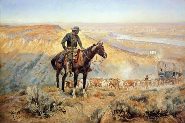 Charles Russell - The Wagon Boss