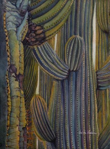 Carol Ann Schrader - Summer Saguaros