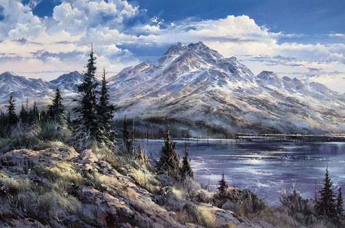 Doug Oliver - Grizzly Valley Afternoon