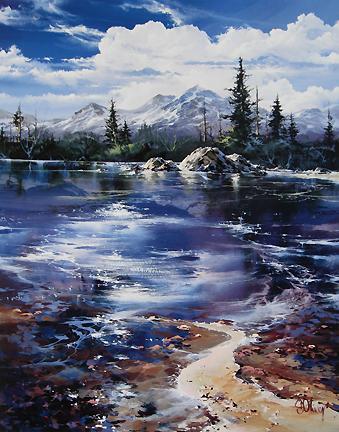 Doug Oliver - Pines and Sand Pebbles