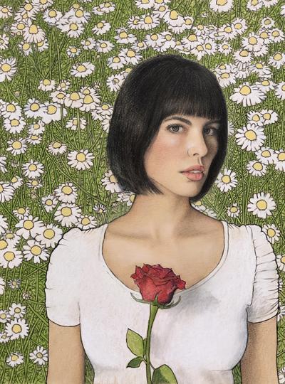 Dan Volenec - One Rose