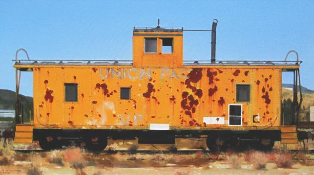 Don Williams - Caboose-Lovelock, Nevada