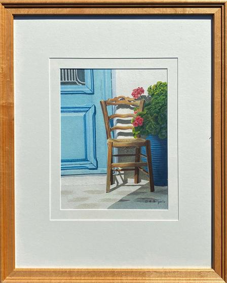 Evelyne  Brigeois - Turquoise Door