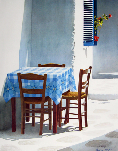 Evelyne   Brigeois  - Quiet Table