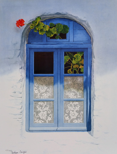 Evelyne   Brigeois  - Greece Sifnos