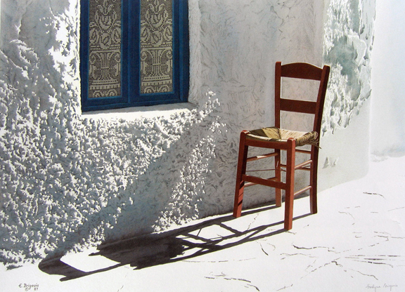 Evelyne   Brigeois  - The Chair, Mykonos