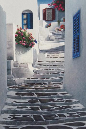 Evelyne  Brigeois - Greek Steps