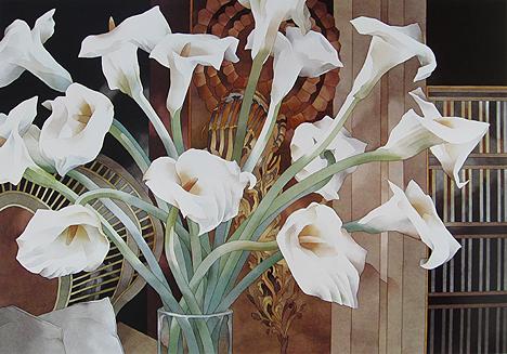 Jean Crane - Calla Lilies