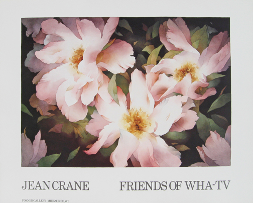 Jean Crane - Friends of WHA-TV - A special poster