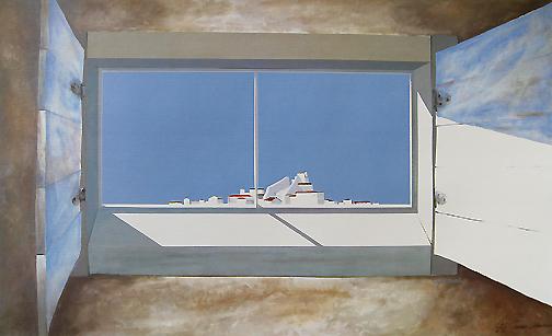 James Harrill - Greek Window