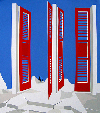 James Harrill - Red Doors