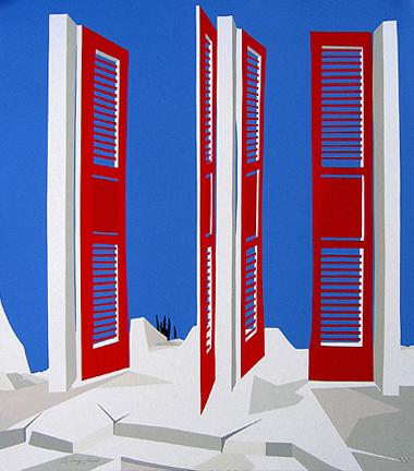 James Harrill - Red Doors