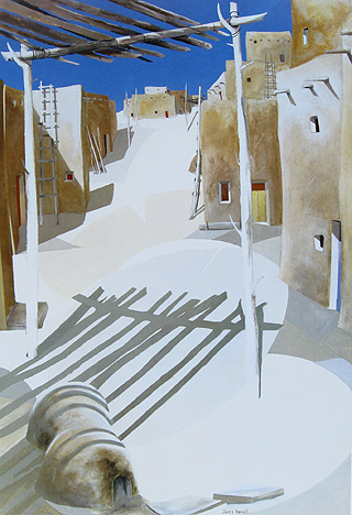 James Harrill - Shadows & Pueblo