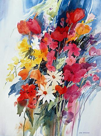Joan McKasson - Springtime Cascade