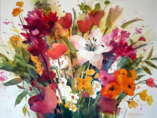 Joan McKasson - Spring Flowers
