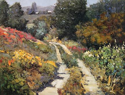 Kent Wallis - Lane in the Gully