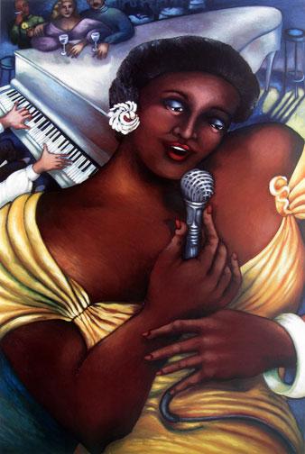 Linda  Carter-Holman - Jazz Singer, The