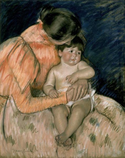 Mary Cassatt - Mother & Child