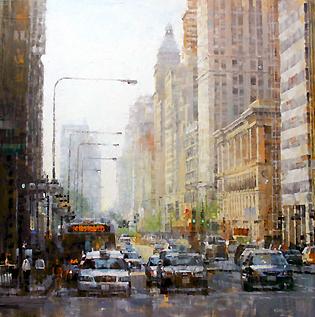 Mark Lague - Michigan Avenue, Chicago