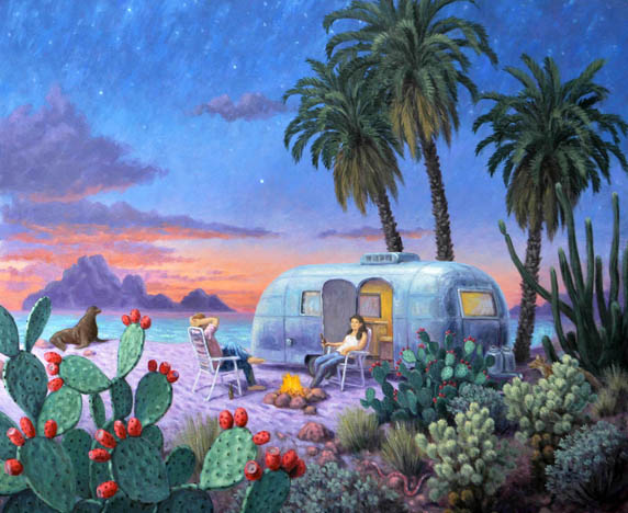 Stephen Morath - Airstream on the Beach