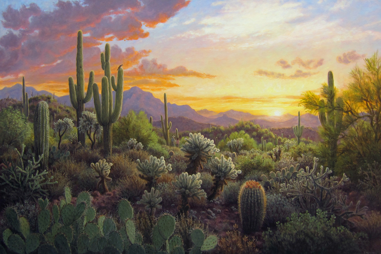 Painting  Image - Sunset Tranquility