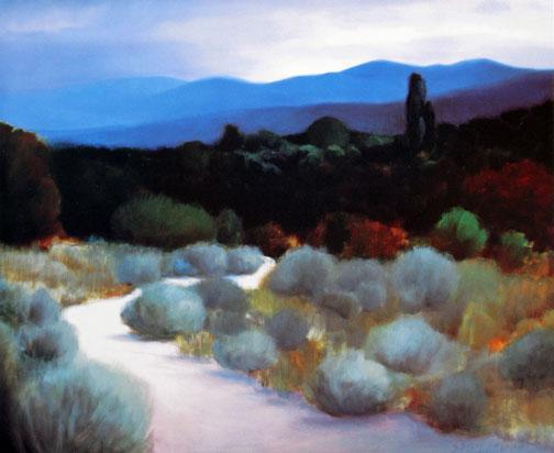 Robert Striffolino - North Side Of Santa Fe, Small print