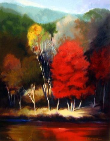 Robert Striffolino - October Shoreline
