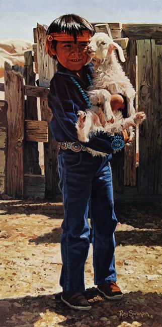 Ray Swanson - Navajo Pals