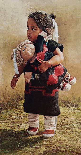 Ray Swanson - Navajo Dolls