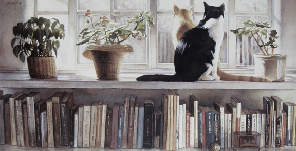 Steve Hanks  - Bookends - Digital Prints