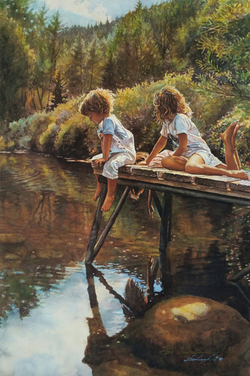 Steve Hanks  - Watching and Reflecting
