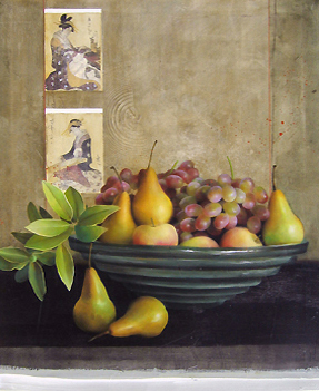 Sherry Loehr - Grapes and Pears