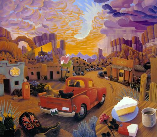 Stephen Morath - Sunset Ride - Digital prints