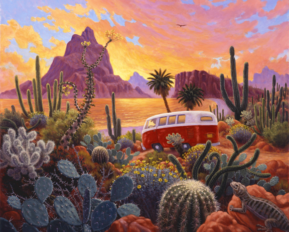 Stephen Morath - The Baja Trail - Digital Prints