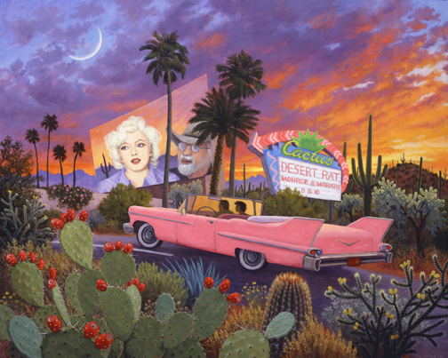 Stephen Morath - Desert Drive-In - Digital Prints