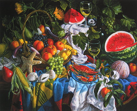 Stephen Morath - Fruits Of The Sea, Garden & Vineyard