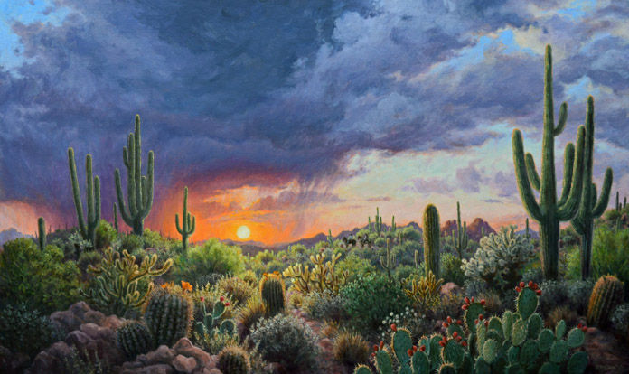 Stephen Morath - Sunset Thunderstorm II