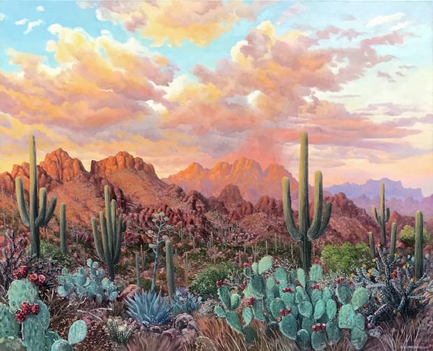 Stephen Morath - Superstitions at Sunset