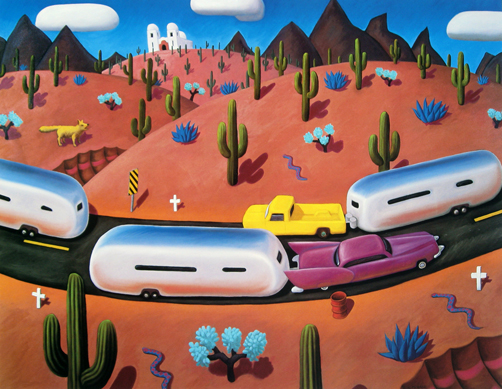 Stephen Morath - Airstreams In Cactusland