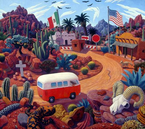 Stephen Morath - Gringo Pass - poster