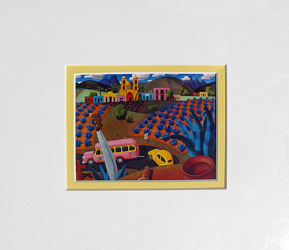 Stephen  Morath Small Prints - Tequila Town