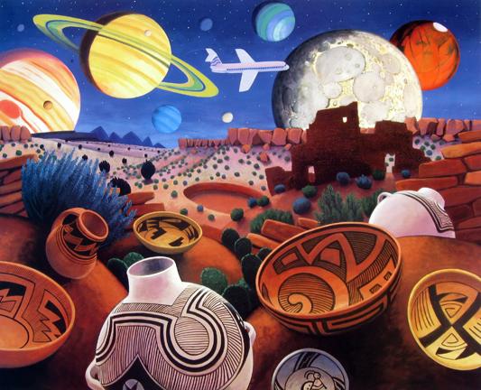 Stephen  Morath Small Prints - Night Flight
