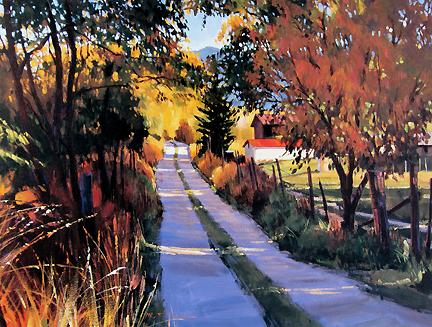 William Hook - Autumn Road