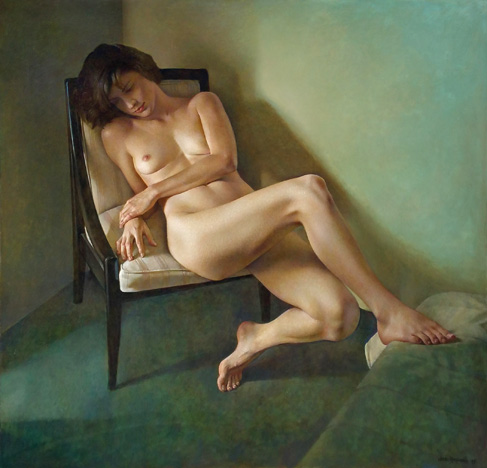 Wade Reynolds   - Figure With Comforter II